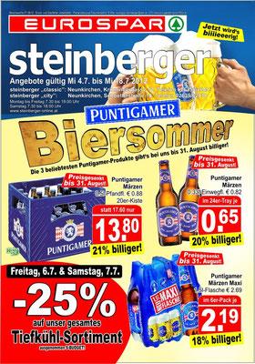 Puntigamer Biersommer 2012