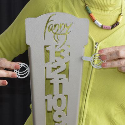 Fanny Compteur de score de pétanque vertical