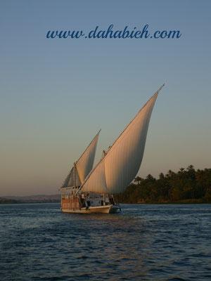 croisière en dahabieh sur le Nil