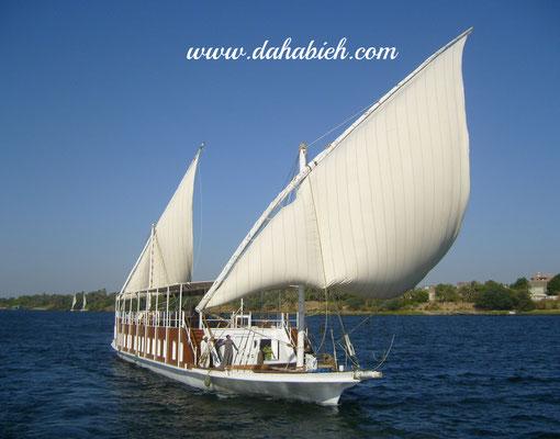 croisière sur le Nil en dahabeya