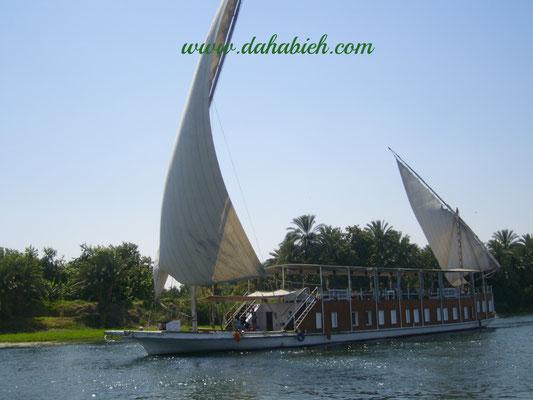 en dahabieh sur le Nil