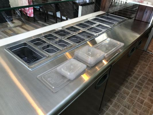 冷蔵デリショーケース
