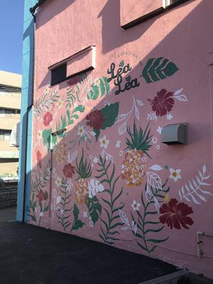 tomomiさんの壁画