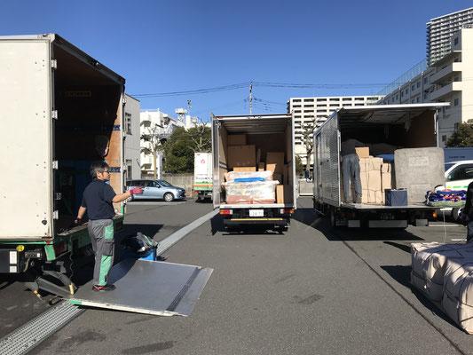 オーダー輸入家具搬入