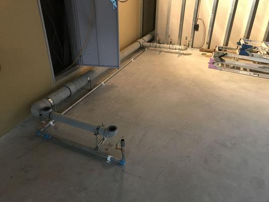 給排水配管敷設