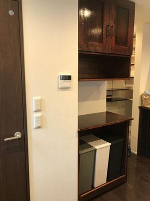 キッチン収納システムキャビネット