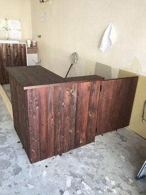 ハワイアンカフェ内装工事