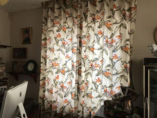 ハワイアンオーダーカーテン