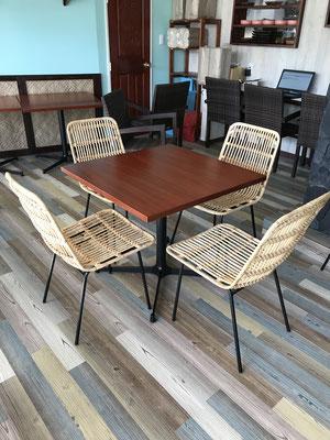 ハワイアンレストラン家具