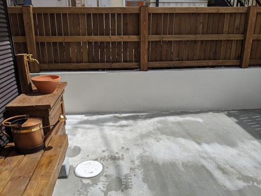 塗り壁は汚れに強いフッ素で塗装