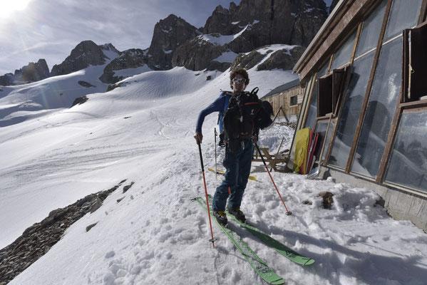 """Julien """"Deluze"""" guide attentionné, sait aussi se faire sherpa quand il le faut !"""