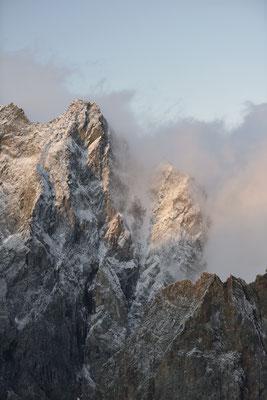 Coup d'hiver sur Roche d'Alveau !