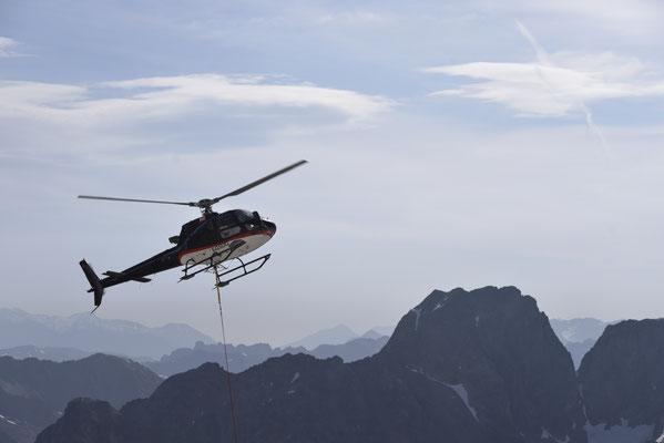 Ravitaillement aérien par Gilles du SAF.