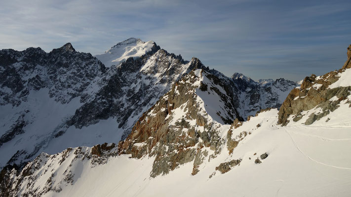 Conditions au 31 mars du col des Neiges.