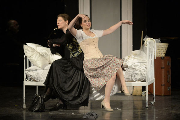 Susanna, Le Nozze di Figaro, Stadttheater Bad Hall 2015, © Peter Kainrath