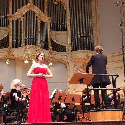 Opernmatinee, Laeiszhalle Hamburg 2017, Orchestergemeinschaft Hamburg, Dirigentin: Annalena Hösel, © Herta Payer