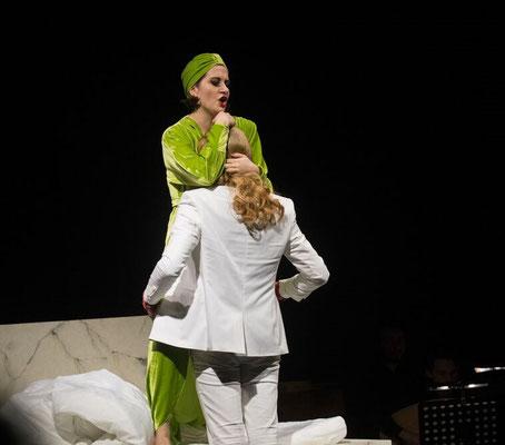 Poppea, L'incoronazione di Poppea, opera stabile - Staatsoper Hamburg 2017, © Nils Joehnk