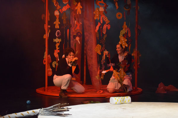 Gretel, Hänsel & Gretel, Theater Gaußstraße Hamburg 2017, © Leonie Wahl