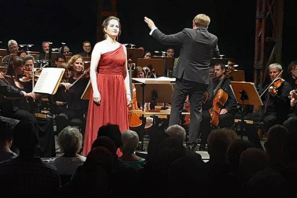 Klassikwünsche Konzert, Norddeutsche Philharmonie Rostock, Dirigent: Martin Hannus,  © Manuela und Gerhard Wittmann