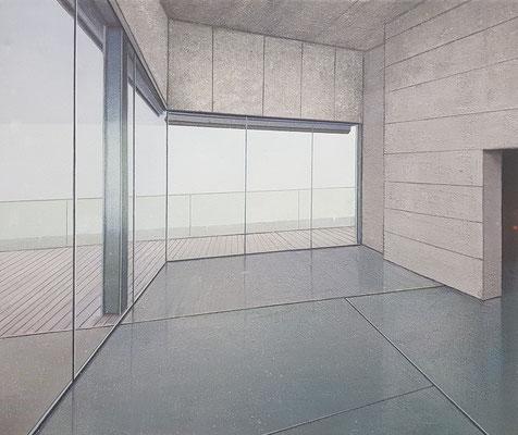 EMPTY VIEW, 2018, Öl auf Leinwand, 50 x 60 cm