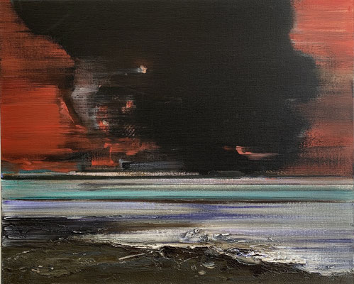 2020, 2020, Öl auf Leinwand, 61 x 76 cm