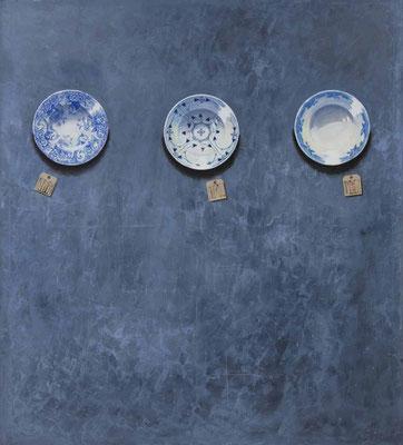 """""""UNWRITTEN..."""" VI, Öl auf Leinwand, 180 x 160 cm, 2017"""
