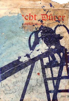 PLAYSTATION. 2020, Kugelschreiber, Acryl, Graphit, Collage auf Papier 32 x 25 cm