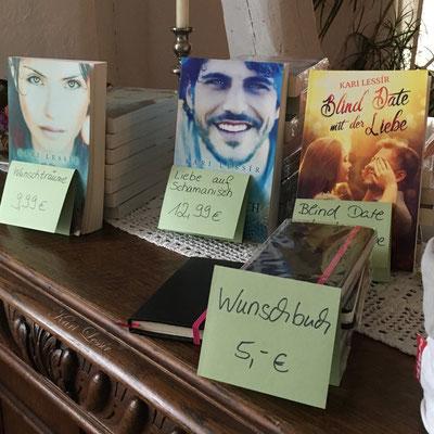 Die mitgebrachten Bücher ... Foto: privat