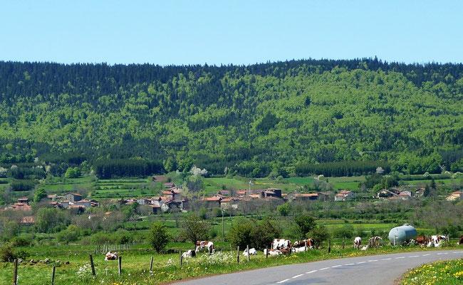 Séneujols un village à la campagne