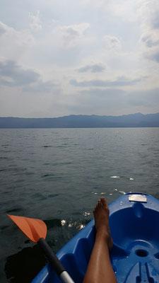 Kayakken in Albanië