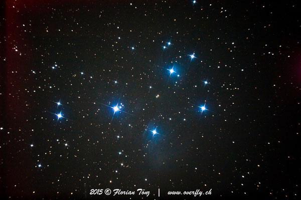 Plejaden (M45) - ISO1600 - 59s - Canon 5D astrooptimiert