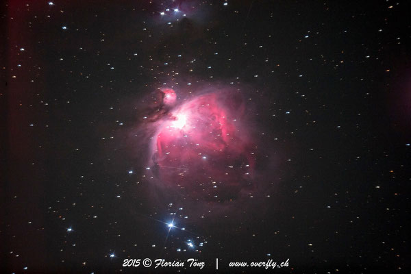 Orion Nebel (M42) - ISO1600 - 59s - Canon 5D astrooptimiert