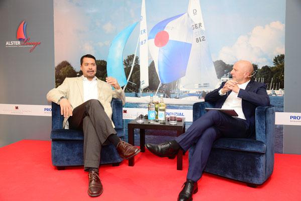 Talk mit dem US-Amerikansichen Generalkonsul Richard Yoneoka