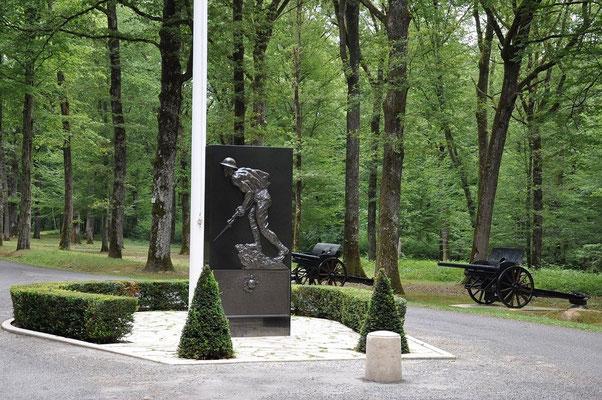 Site Belleau : le soldat de bronze