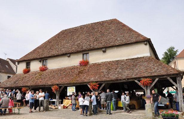 Marigny-en-Orxois : la halle du 17è siècle
