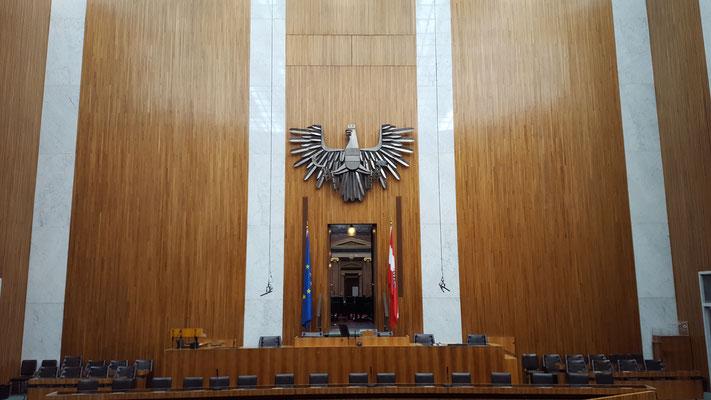 (c) Herbert Wagner (2016), Der Nationalratssitzungssaal