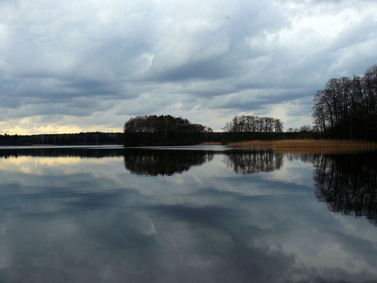 Diese Stimmung am See erinnert an Schweden
