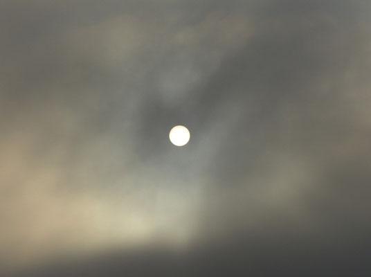 Schwache Momente der so starken Sonne