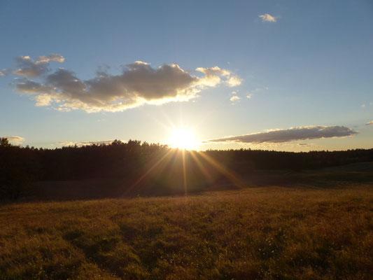 ...ist noch schöner in den Sonnenstrahlen