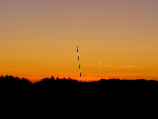 An einem frühen Oktobermorgen an der Ostsee...