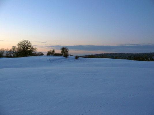 Winterabendliche Weite...