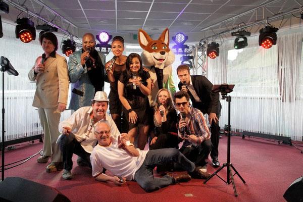 Party mit Tourage auf dem Rhein für Schwäbisch Hall
