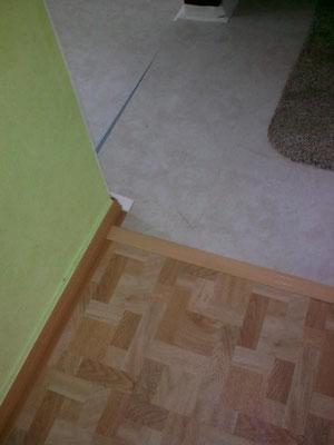 Fußboden nachher