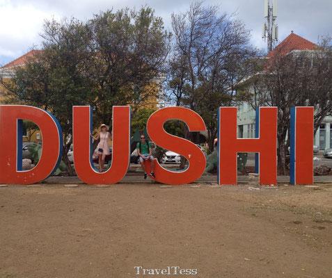 Dushi bord in Curaçao