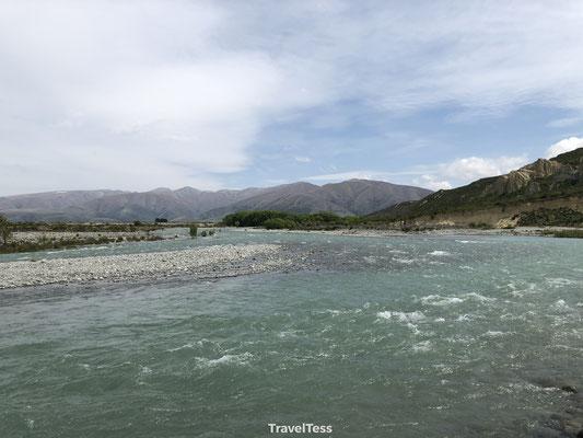 Clay Cliffs rivier