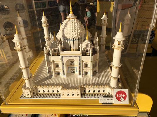 Taj Mahal van lego