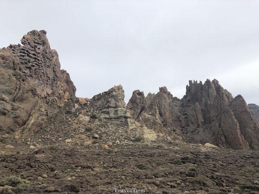 Rotsformatie El Teide National Park
