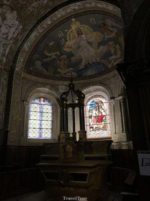 Kerkje Archeologisch Museum Grenoble
