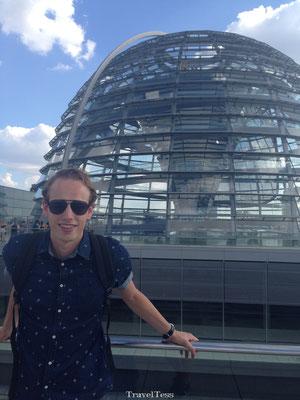 Glazen koepel Reichstag gebouw