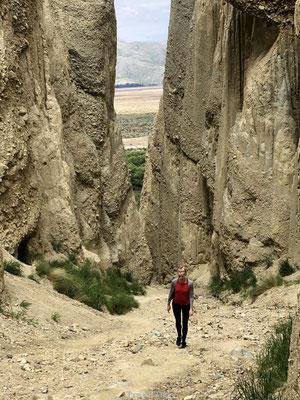 Clay Cliffs ingang